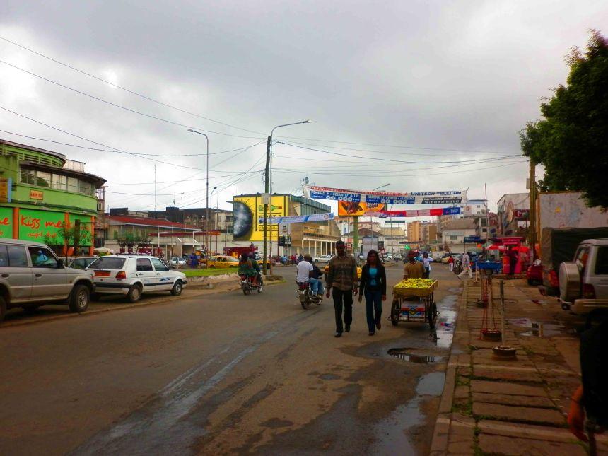 Cruising in Douala