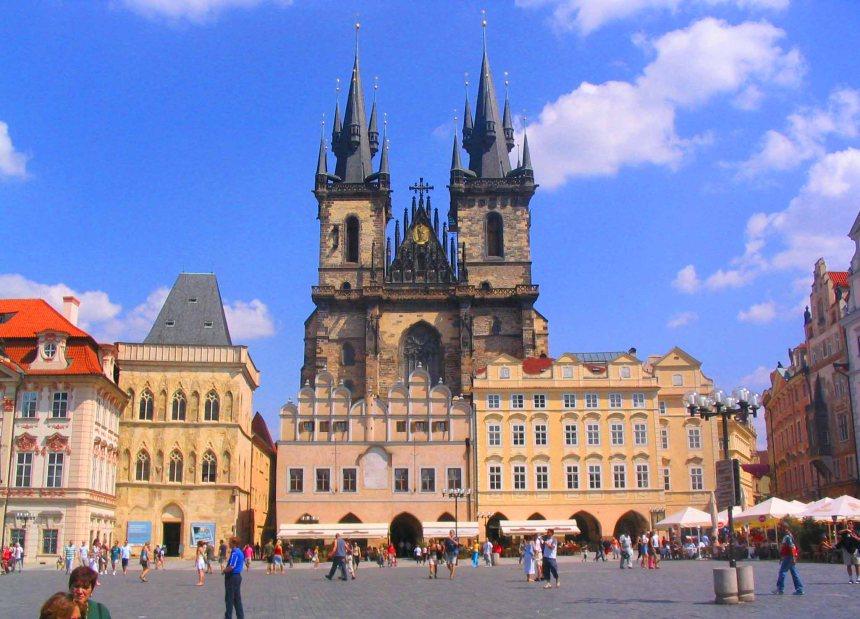 Central Prague