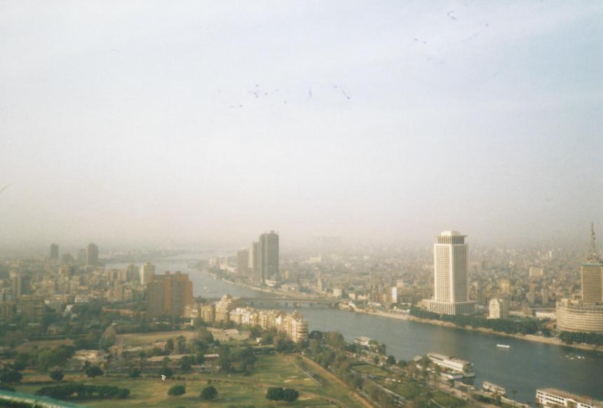 Smoggy Cairo