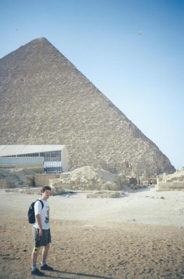 Yep, me and the Pyramids