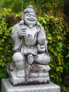 God of money at a Kyoto temple