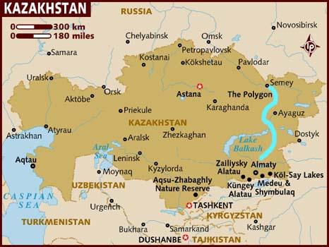 map_of_kazakhstan