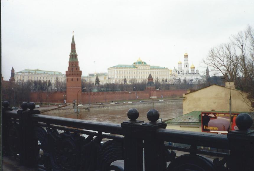 Kremilin, Moscow, 1999