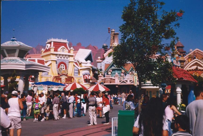 Disneyland, California, 1999