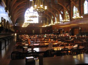 Inside the NY State Library