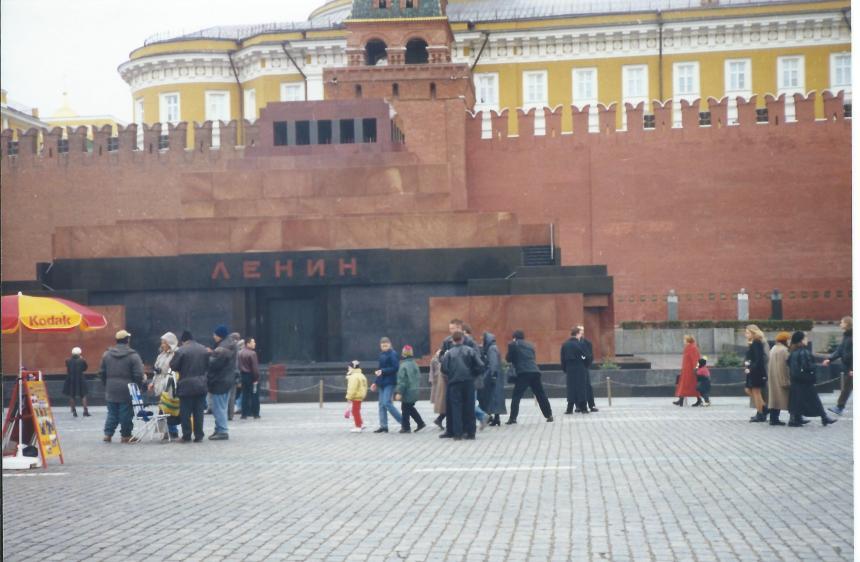 Lenin's tomb in Red Square