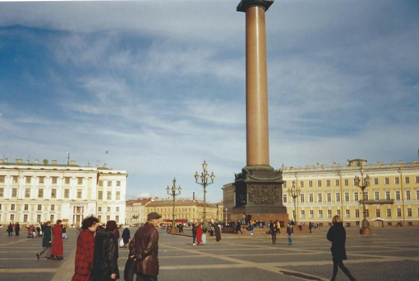 St Peter's column, St Petersburg