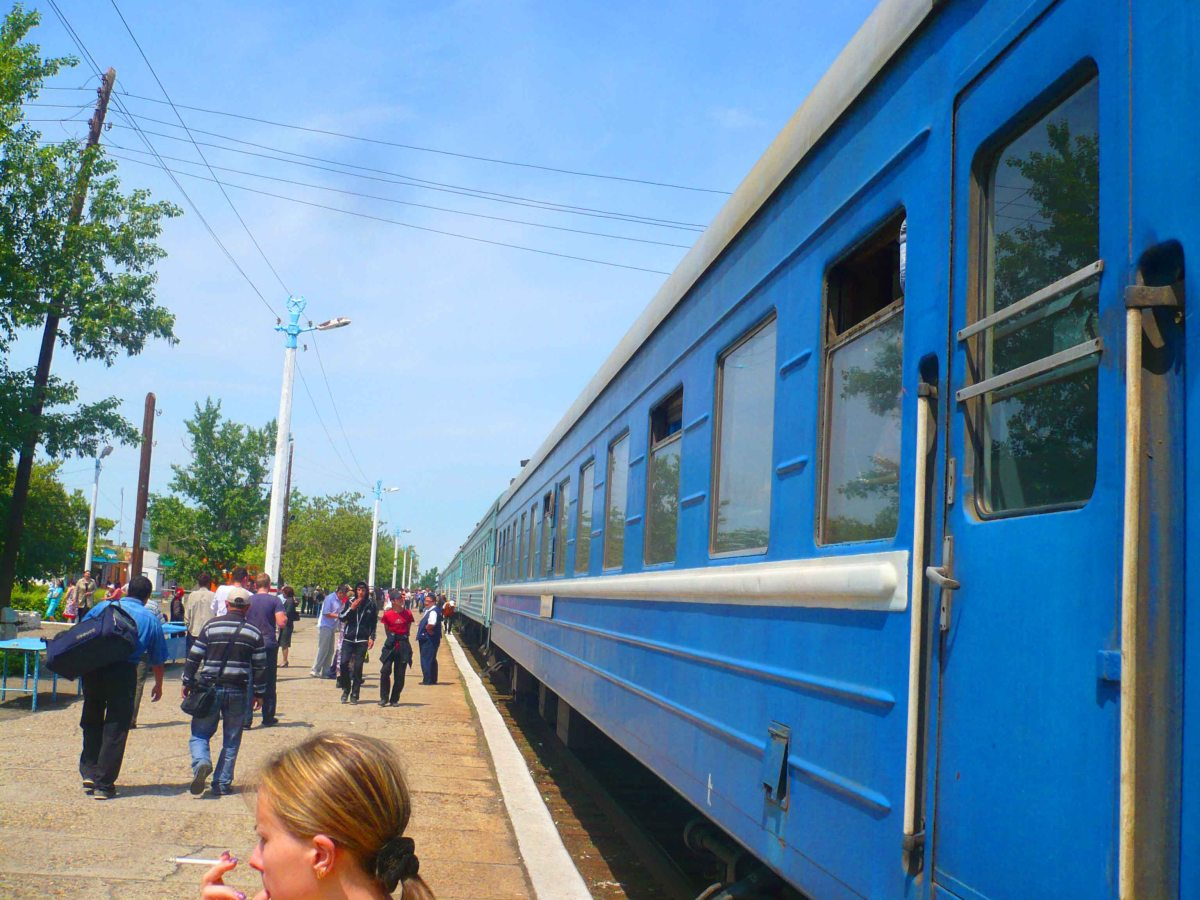 Train Journeys - Almaty to Semey (Kazakhstan)