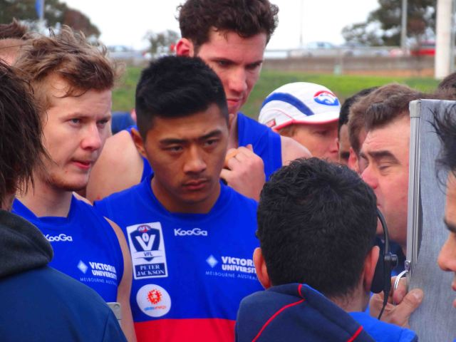Coach gives players advise