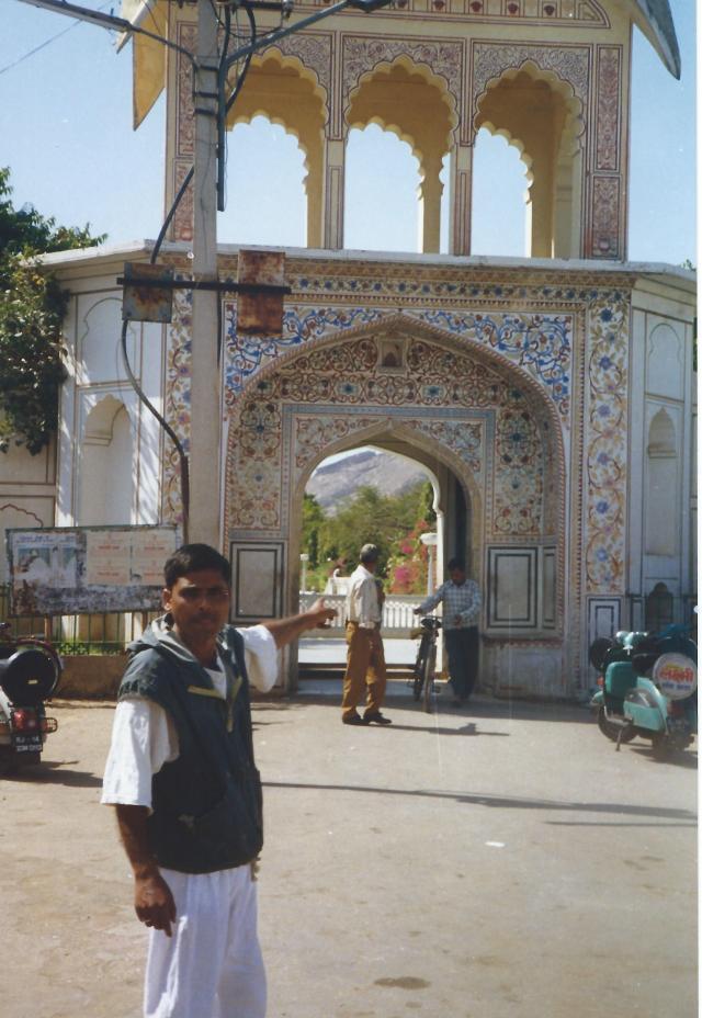 My guide in Jaipur