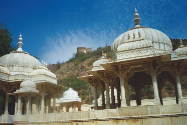 Temple near Jaipur.