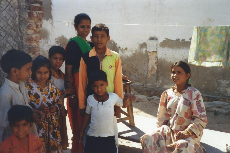 My guide's family