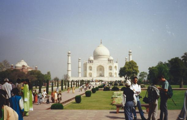 A trip to India - not complete without a visit to the Taj.