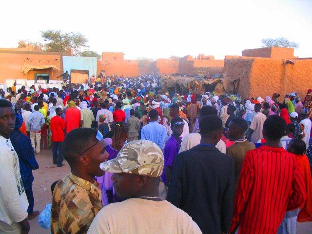 Festival in Agadez.