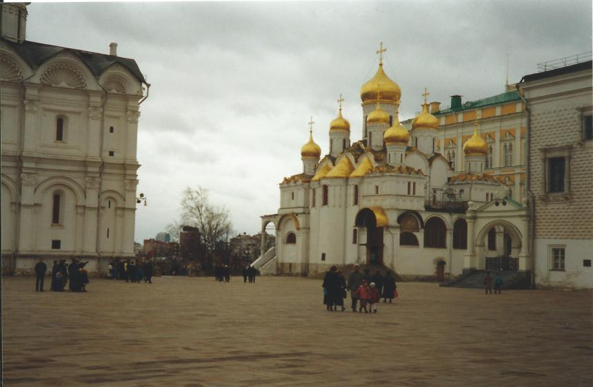 Church inside the Kremlin.