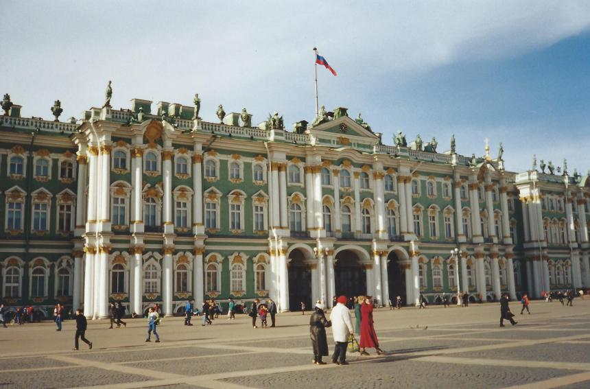 The Hermitage - saved some money, just saw the outside!