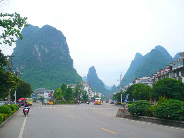 Yangshuo the town is also pretty stunning