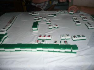 Mahjongg at the Culture House