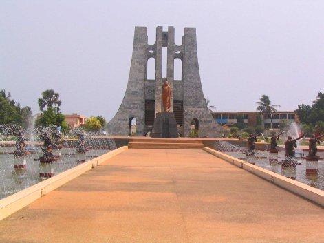 Nkrumah's Mausoleum.