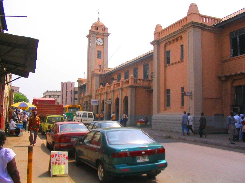 Colonial building in Accra