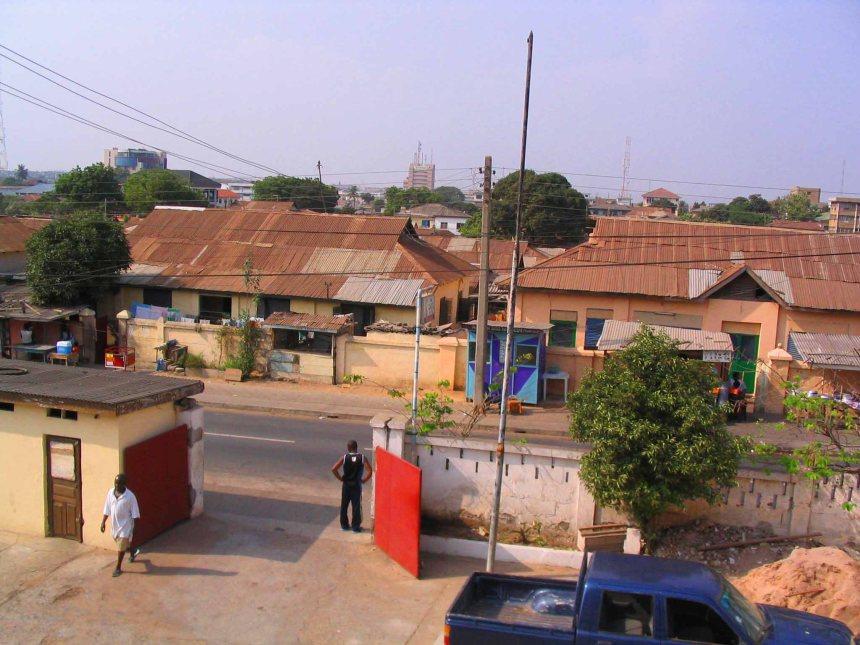 Flat, Accra suburbs.