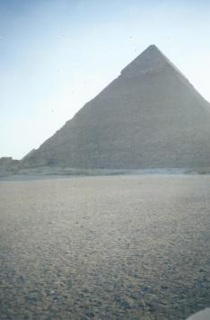 Strange triangle thing in Egypt.