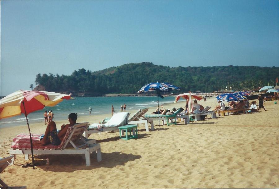 Beach at Calangute
