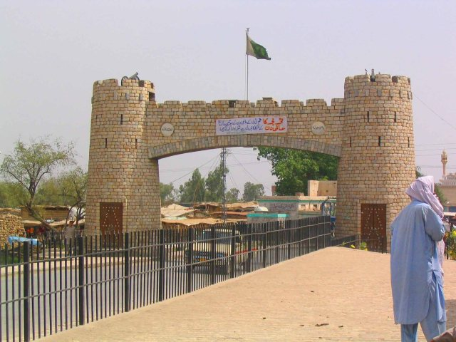 The start of the Khyber Pass.