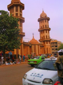 Mosque in Ouagadougou