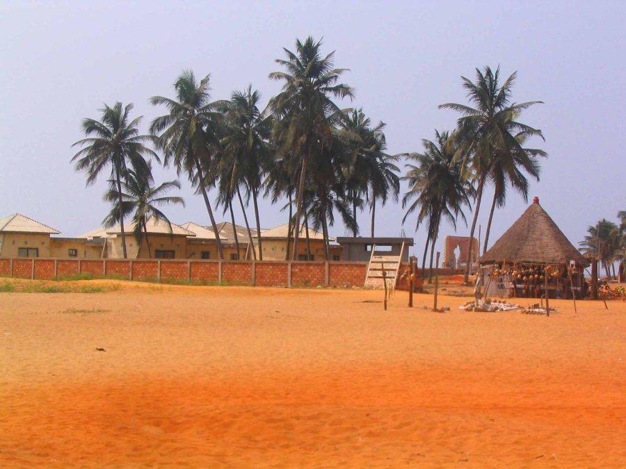 Beautiful beach, sad history.