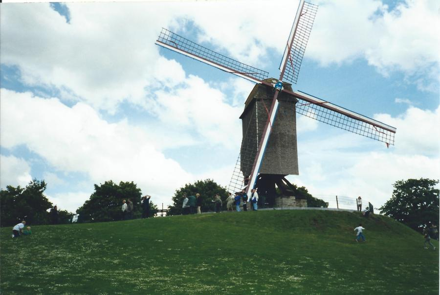 Belgium, The Netherlands - think windmills, right?