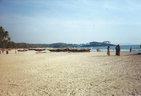 Beautiful Palolem beach.