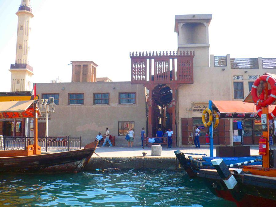 The waterways of Dubai.