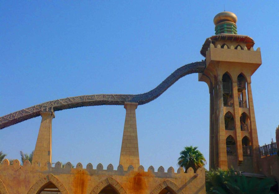 Perhaps the scariest ride at Wild Wadi.