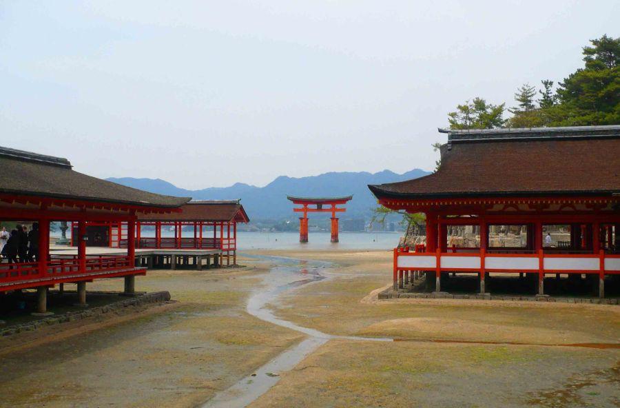 Temples at Miyajima.