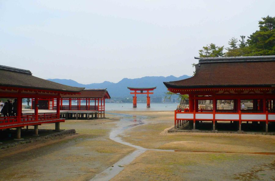 Temples at Miyajima.