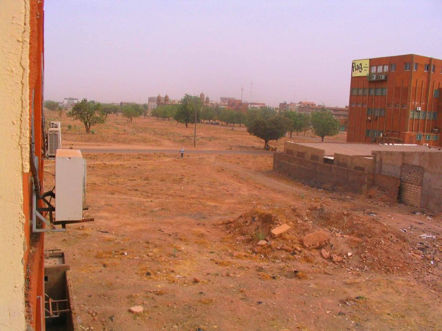 Empty blocks in Ouaga.