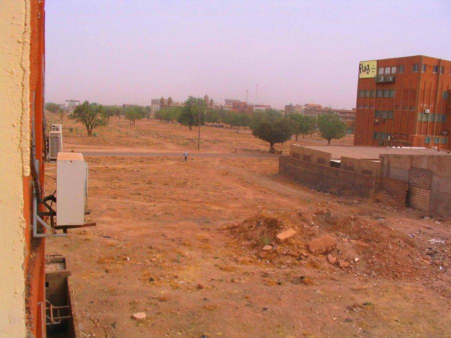 Empty blocks in Ouaga.