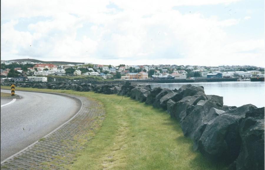 Reykjavik road