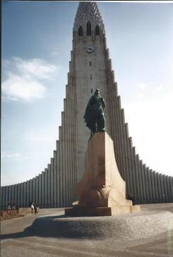 Church in Reykjavik.