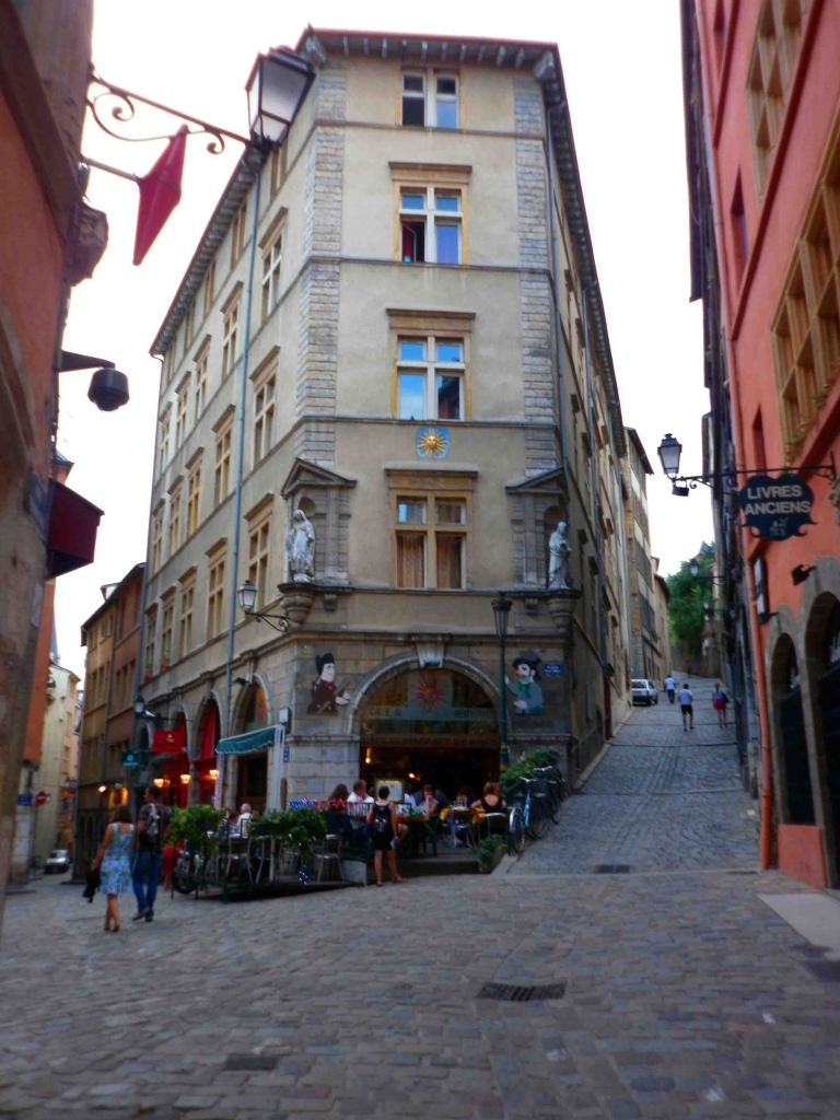 The wonderful streets of Lyon.