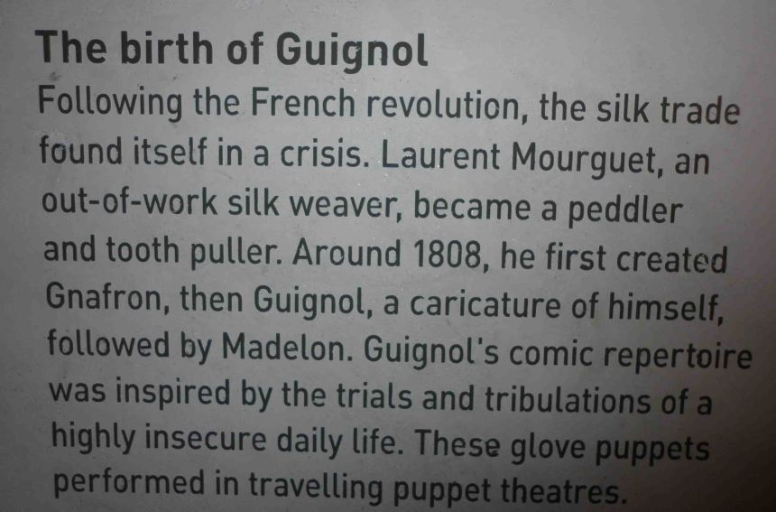 The story of Guignol.