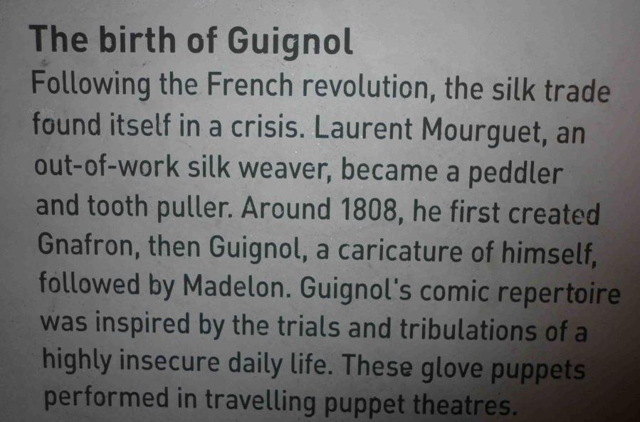 The story of Guignol.
