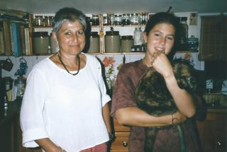 This is Eleanor and her Mum. If you remember me, hi!