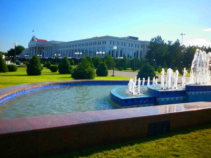 Government building in Tashkent