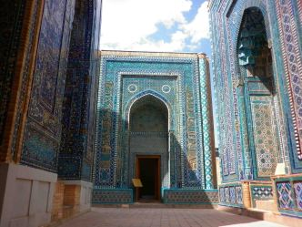 Tombs in Samarkand