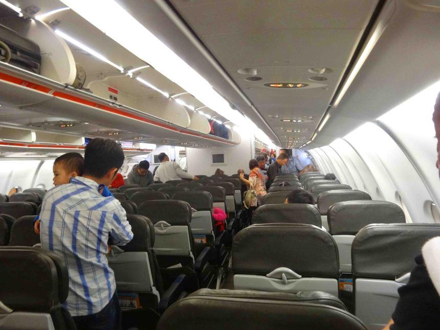 Boarding at last!