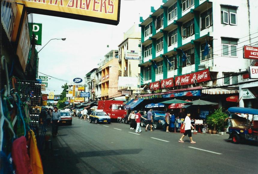 Khao San, daylight, 2000. The only photo I took of it in two trips!