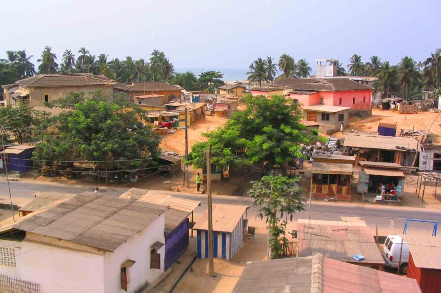 Houses and buildings of Cape Coast