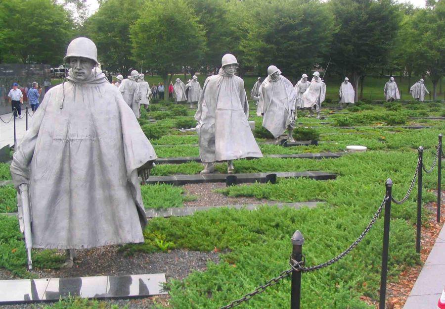korean monument